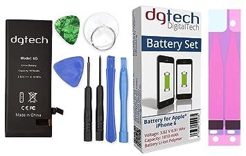 2367c5ff0bb DigitalTech® - Batería Compatible con iPhone 6 de Alta Capacidad con  Herramientas. 3,