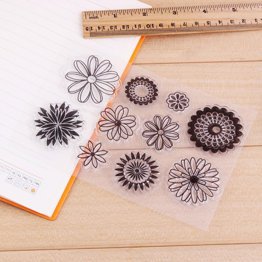 Youn silicone trasparente stamp Seal DIY scrapbooking album Decor timbro