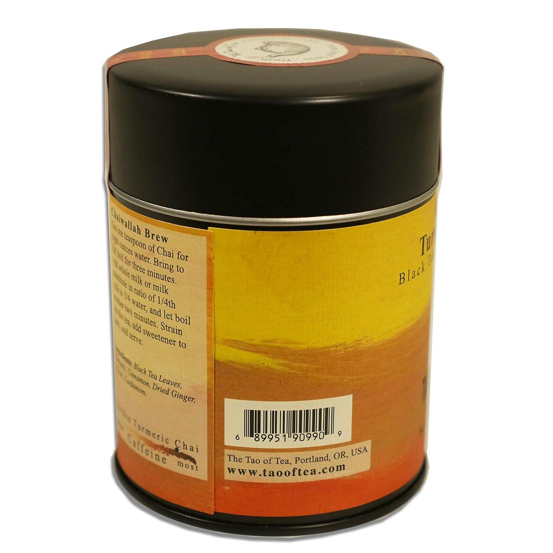The Tao of Tea, Golden Turmeric Chai, 12 Ounce