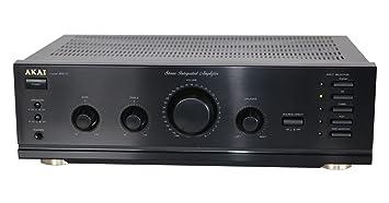 Akai de 17 Amplificador en negro – stereo