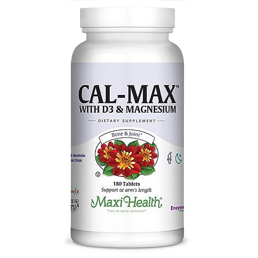 Amazon.com: Maxi Salud Cal-Max Calcio Citrato con Vitamina ...