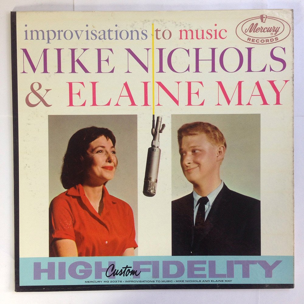 MIKE NICHOLS & ELAINE MAY - Improvisations to Music by Mercury Records