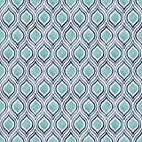 A-Street Prints 2702-22701 Plume Turquoise Ogee Wallpaper,