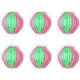 6 teile Kunststoff Maschine Waschen Wäsche Ball Stoff Reinigung Haarentfernung Bälle