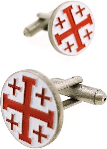 Gemelolandia | Gemelos para camisa Cruz de los Santos Lugares ...