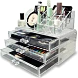 Inditradition Cosmetic & Make Up Organizer Cum Storage Box,Ideal For Dressing Table
