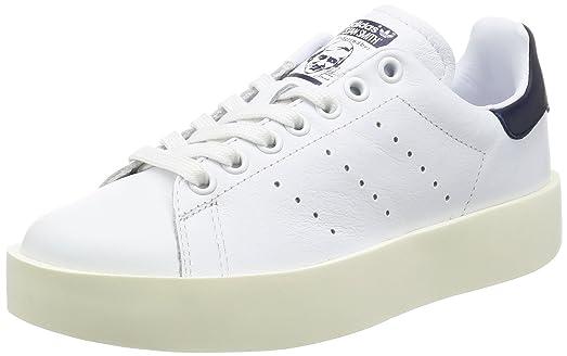 adidas women's stan smith w leather trainers nz