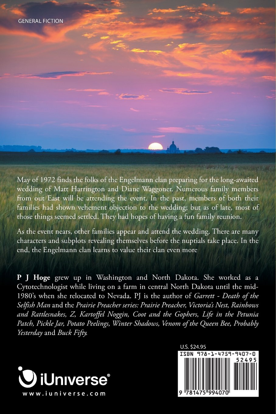 Families! The Good, Bad and Wobbly: Fourteenth of the Prairie Preacher Series