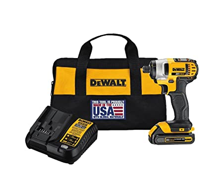 Dewalt DCF885C1 Impact Driver - The best overall impact driver
