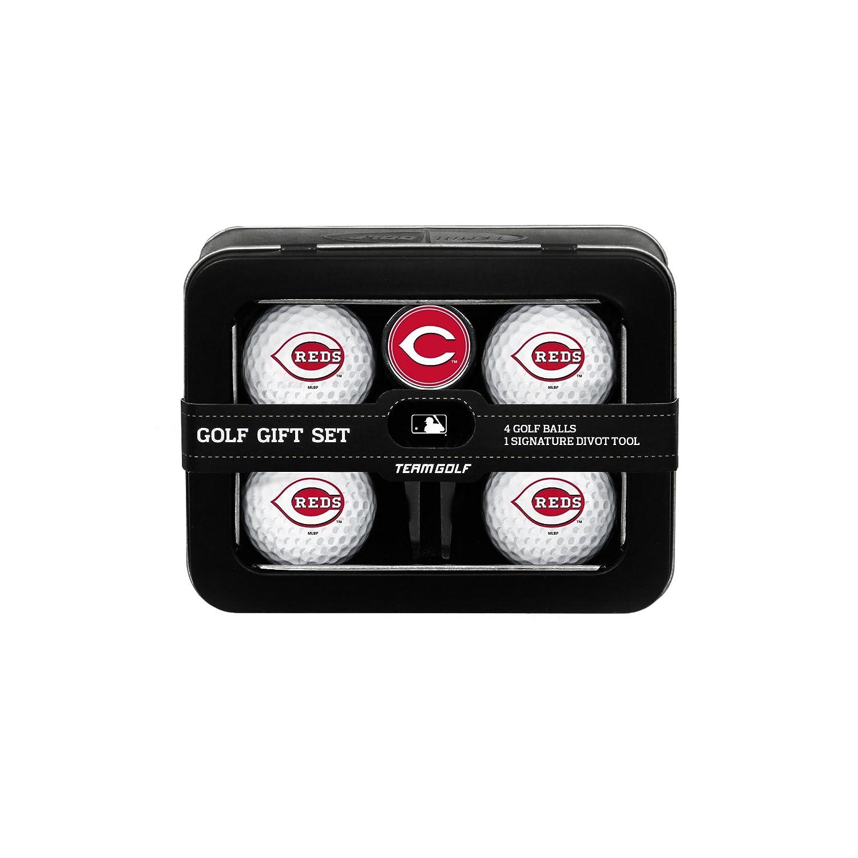 MLBシンシナティレッズ4ゴルフボールとDivot Tool Set B00HN2S910