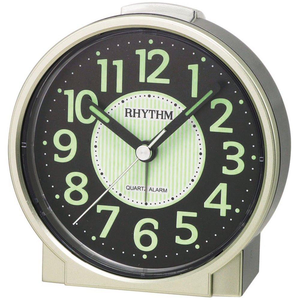 RHYTHM 70225/9 Despertador de cuarzo, bombilla Esfera, luz ...