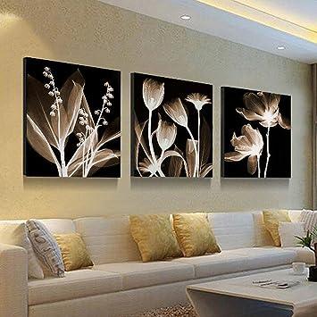 Superbe WJ Salon Moderne Simple Paysage Pastoral Peinture Murale Peinture De Bureau  Peinture à Trois Cristaux Décoration