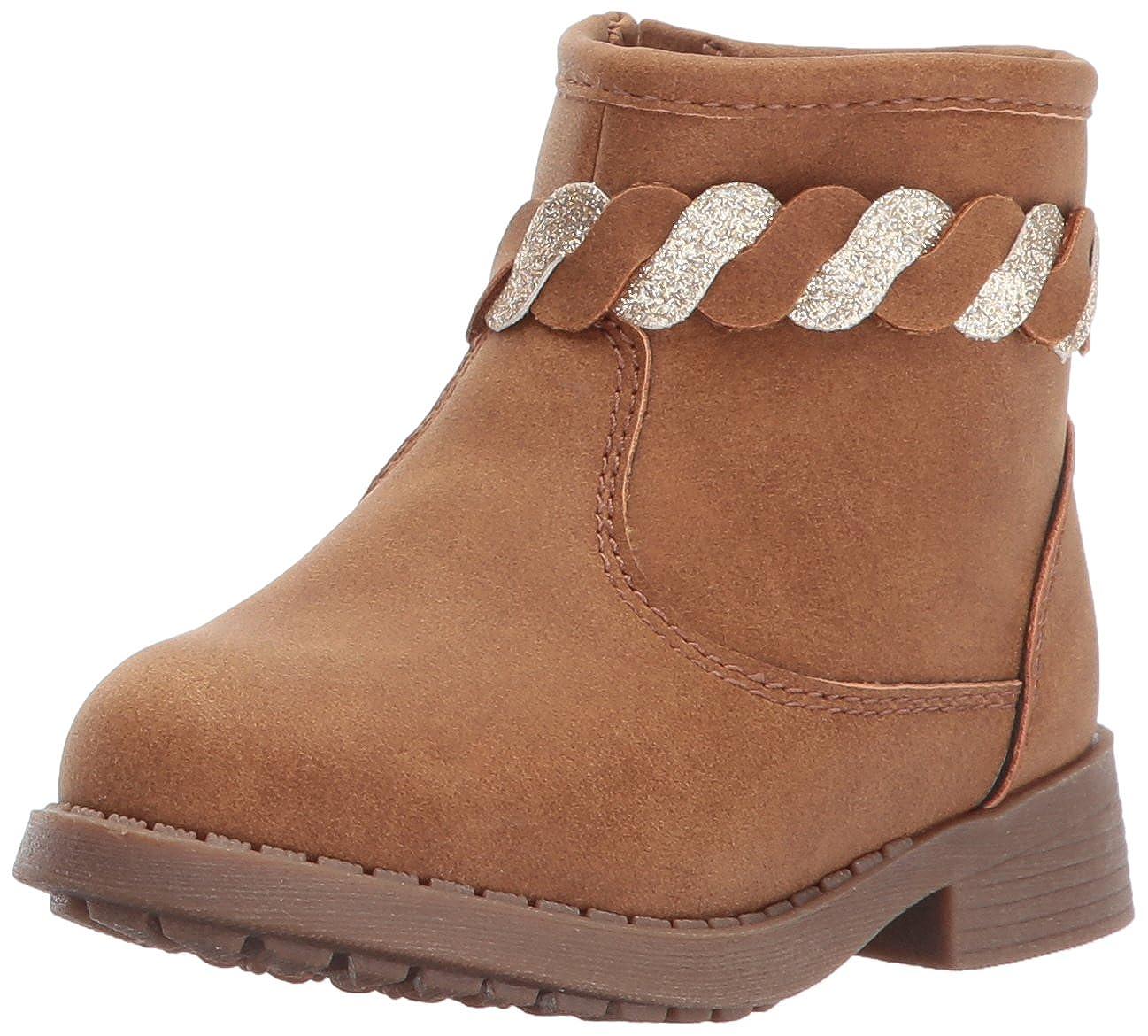 OshKosh B'Gosh Kids Chains Girl's Braided Ankle Boot Fashion OshKosh B'Gosh CHAINS-G - K