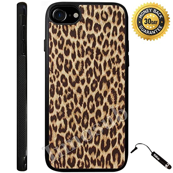 41032963ee4b Amazon.com: Custom iPhone 8 Plus Case (Cheetah Print) Edge-to-Edge ...