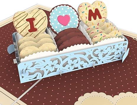 Amazon.com: Colorpop Tarjeta de amor pasteles para mamá, día ...