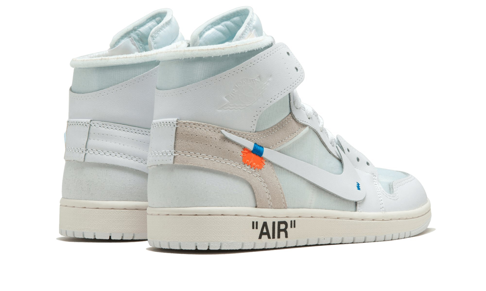 "ba67dc956e13 Air Jordan 1 x OFF-WHITE NRG ""Part 2 Europe Exclusive"" – AQ0818 100 ..."