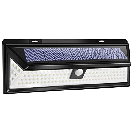 online store b00be 64efe Utech 118 High Bright Solar LED Lights, Solar Powered Motion Sensor Lamp  Waterproof & Wire Free Wall Lights for Outside Doors, Garden, Pathway, ...