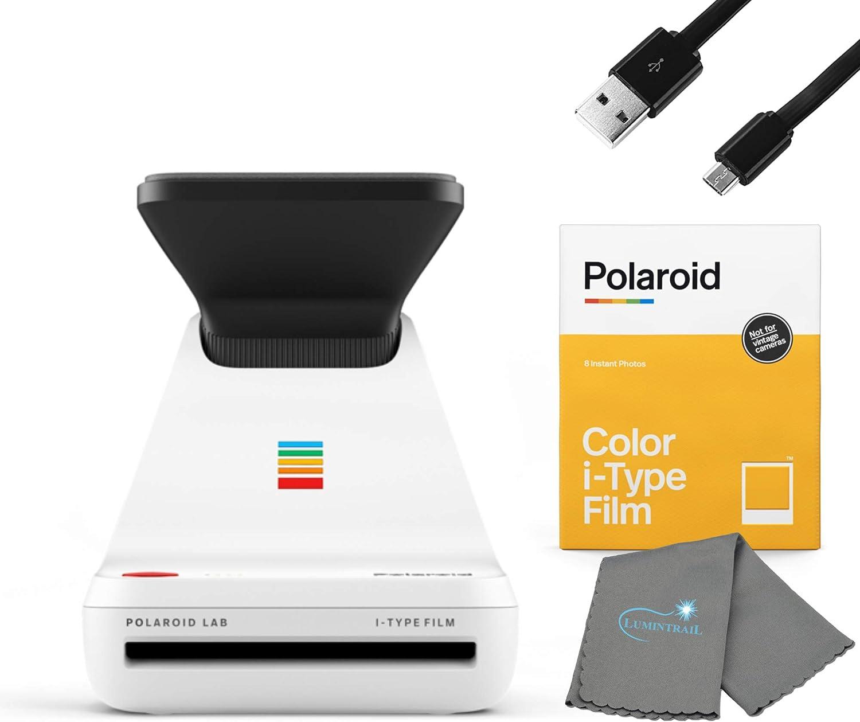 Impresora instantanea Polaroid con Films i-Type Color y paño