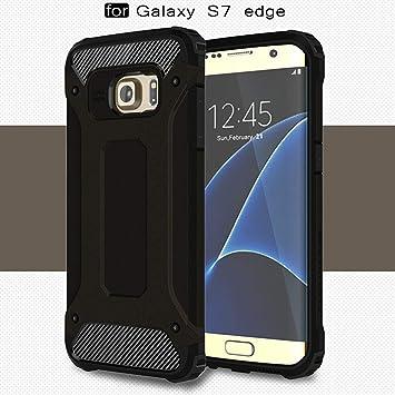 LXHGrowH Funda Samsung Galaxy S7 Edge, Fundas 2in1 Dual ...
