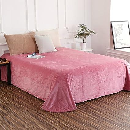 High Quality Crystal Velvet Sheets Single Single Bed Sheet Double Bed Sheet Dormitory  Sheets A 190x235cm(