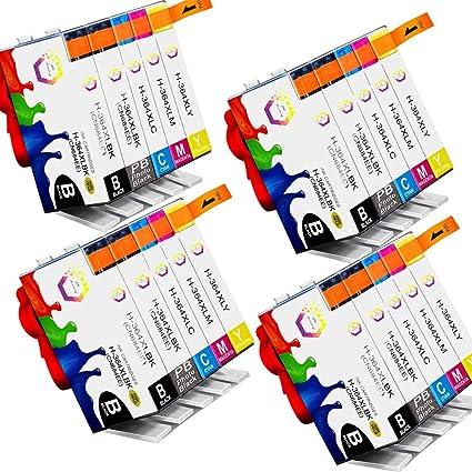 TiAN - 20 Compatible cartucho de tinta HP 364 X L (negro, cian ...