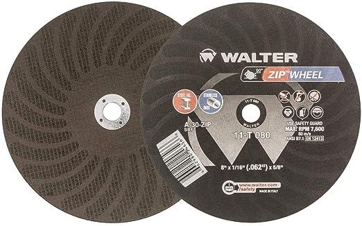 """Walter 10-L 143 Chop Saw Wheel 14/""""X 3//32/""""X 1/"""" A-30-ALU NOS"""