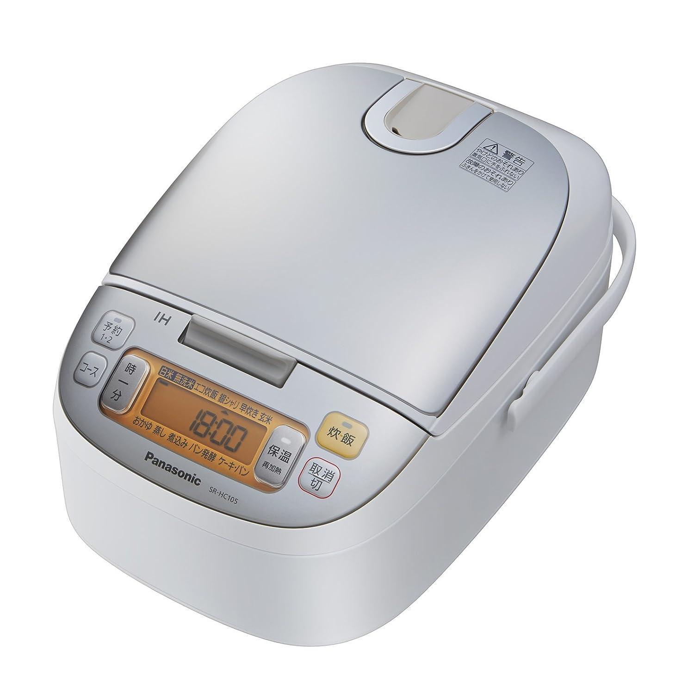 パナソニック 5.5合 炊飯器 IH式 シャンパンホワイト SR-HC105-W 5.5合  B0118SXRVG