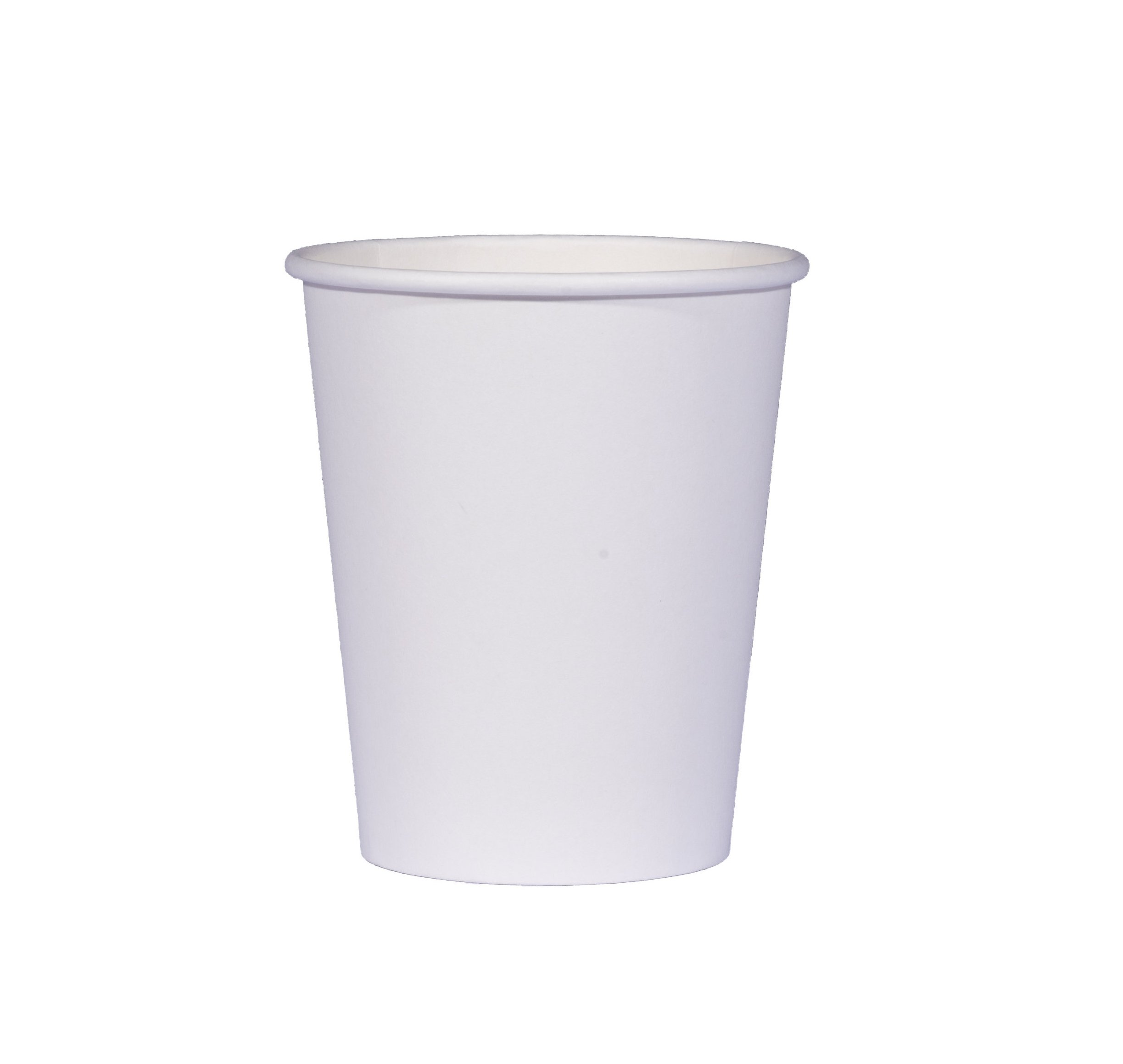 TashiBox 8 oz White Hot Drink Paper Cups - 150 Count - Coffee, Tea, Hot Cocoa by TashiBox (Image #2)