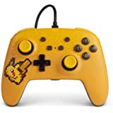 PowerA Pokemon Enhanced Wired Controller for Nintendo Switch - Pixel Pikachu, Gamepad, Wired Video Game Controller, Gaming Co