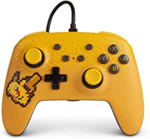 Powera 1518383-01 Controle P/ Nsw Wired Controller Pixel Pikachu com Fio - Nintendo Switch