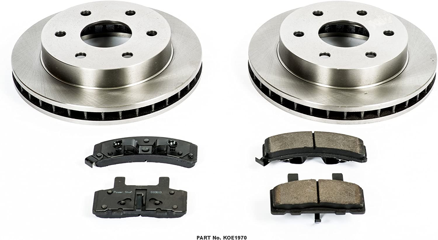 Autospecialty KOE1970 1-Click OE Replacement Brake Kit