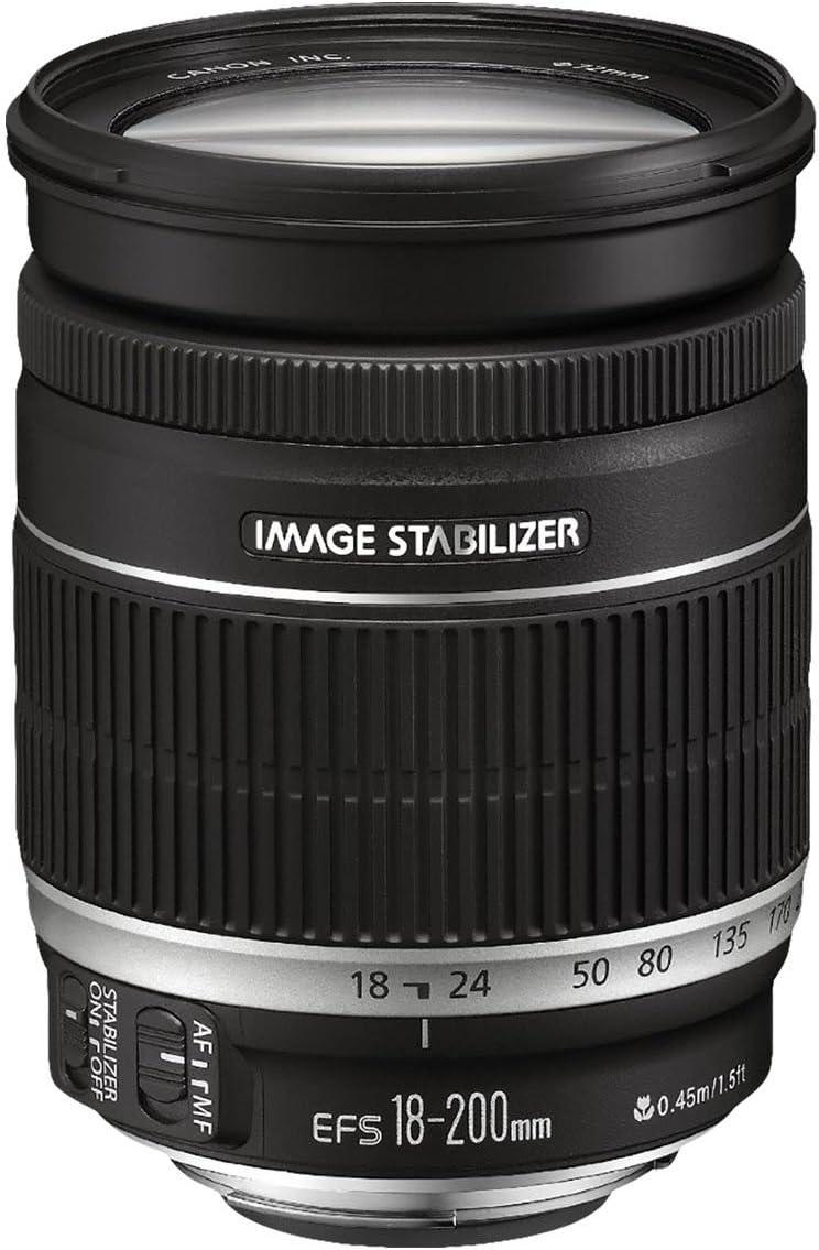 Canon EF 18-200mm f/3.5-5.6 IS: Amazon.es: Electrónica