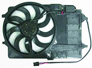 DEPO 382-55002-100 Replacement Engine Cooling Fan Assembly (This product is an aftermarket product. It is not created or sold by the OE car company)