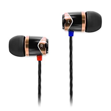f4eeb518159 SoundMAGIC E10 Earphones - Black/Gold: Amazon.co.uk: Electronics