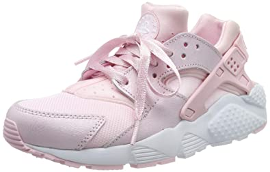 9f42693e9 Nike Big Kids Girls Nike Huarache Run Se Gs pink prism pink-white Size 4.0