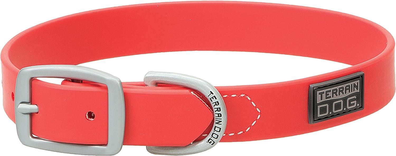 Terrain D.O.G. Brahma Webb Dog Collar, 17