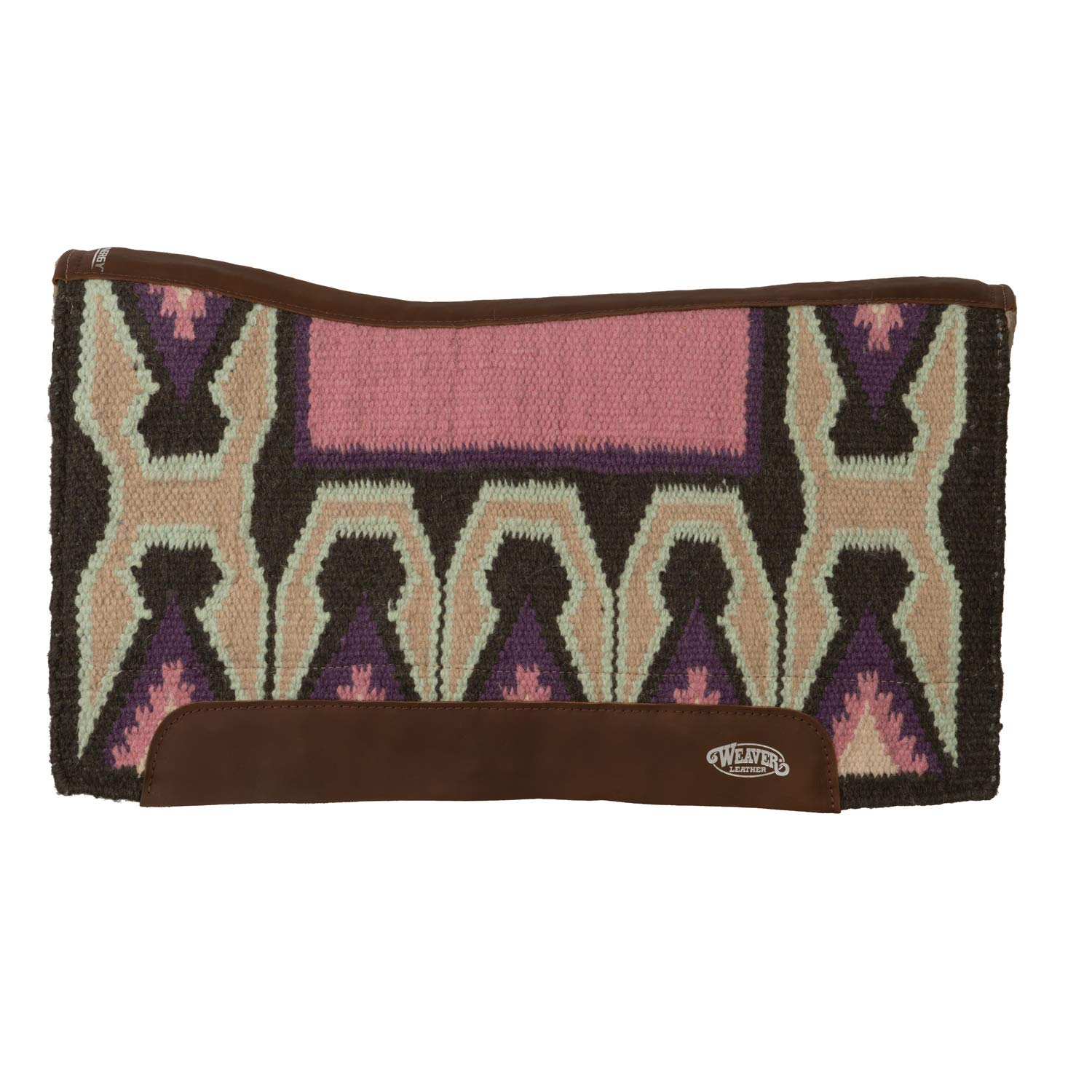 Deadwood Pink Charcoal Synergy™ Contoured Performance Saddle Pad