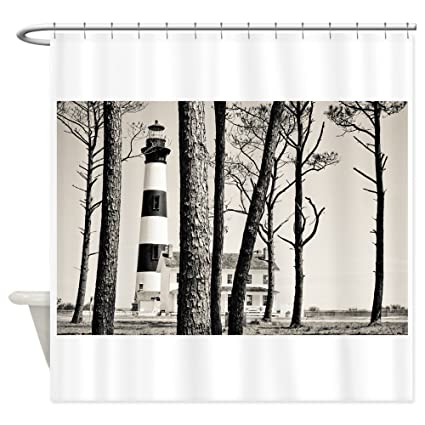 Amazon CafePress Bodie Island Lighthouse Shower Curtain