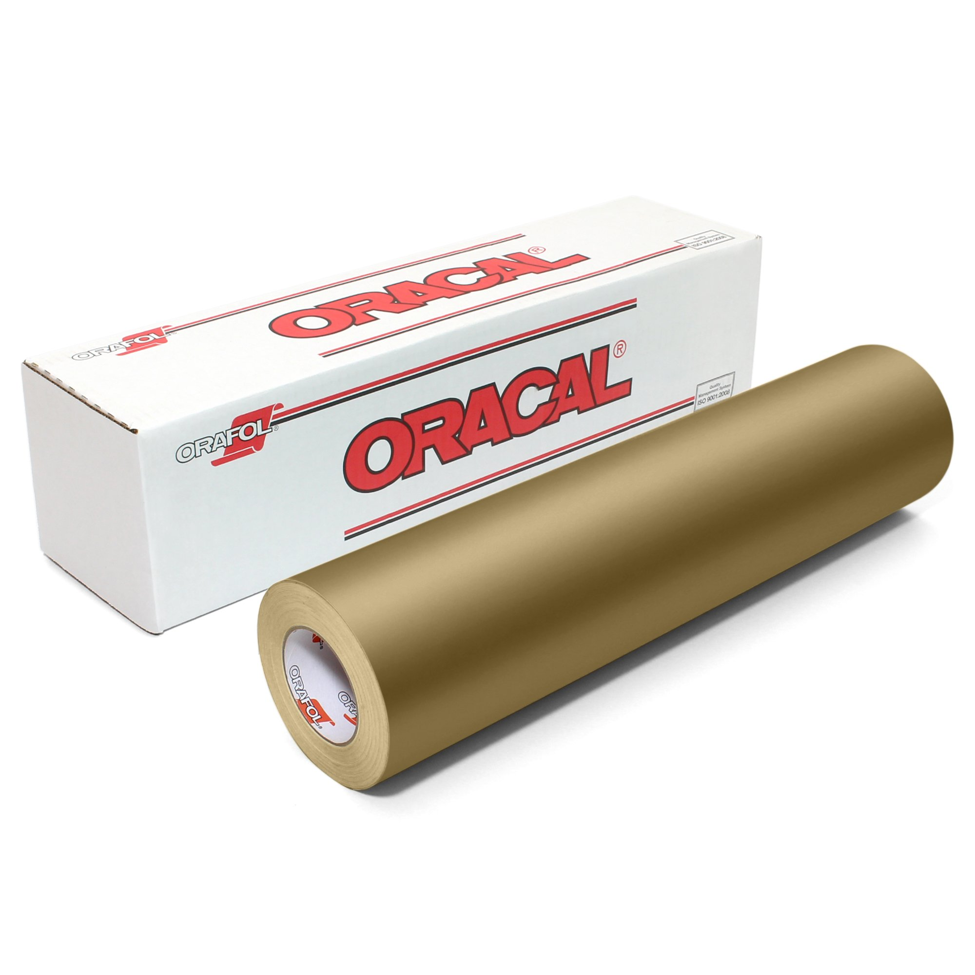 Oracal 631 Matte Vinyl Roll 24 Inches by 150 Feet - Metallic Gold by ORACAL