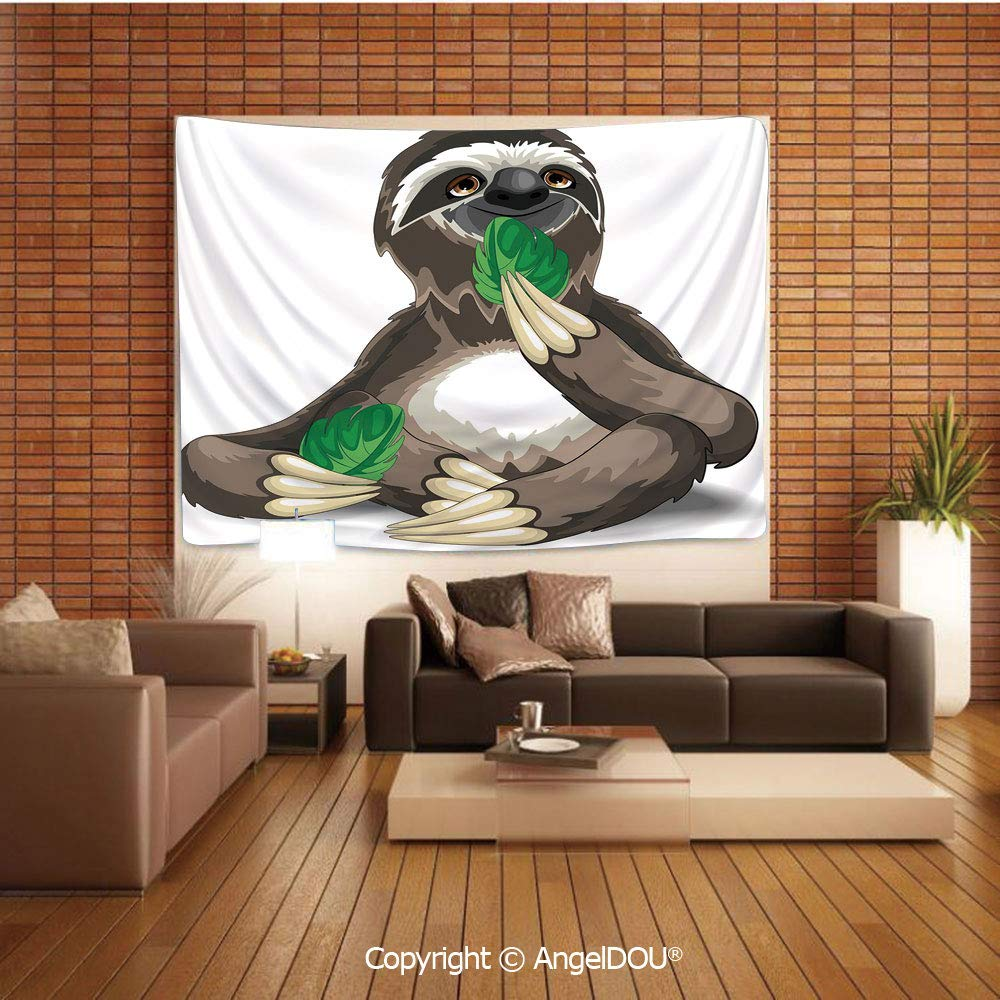 Amazon.com: AngelDOU Sloth Tapestries for Bedroom Wall ...