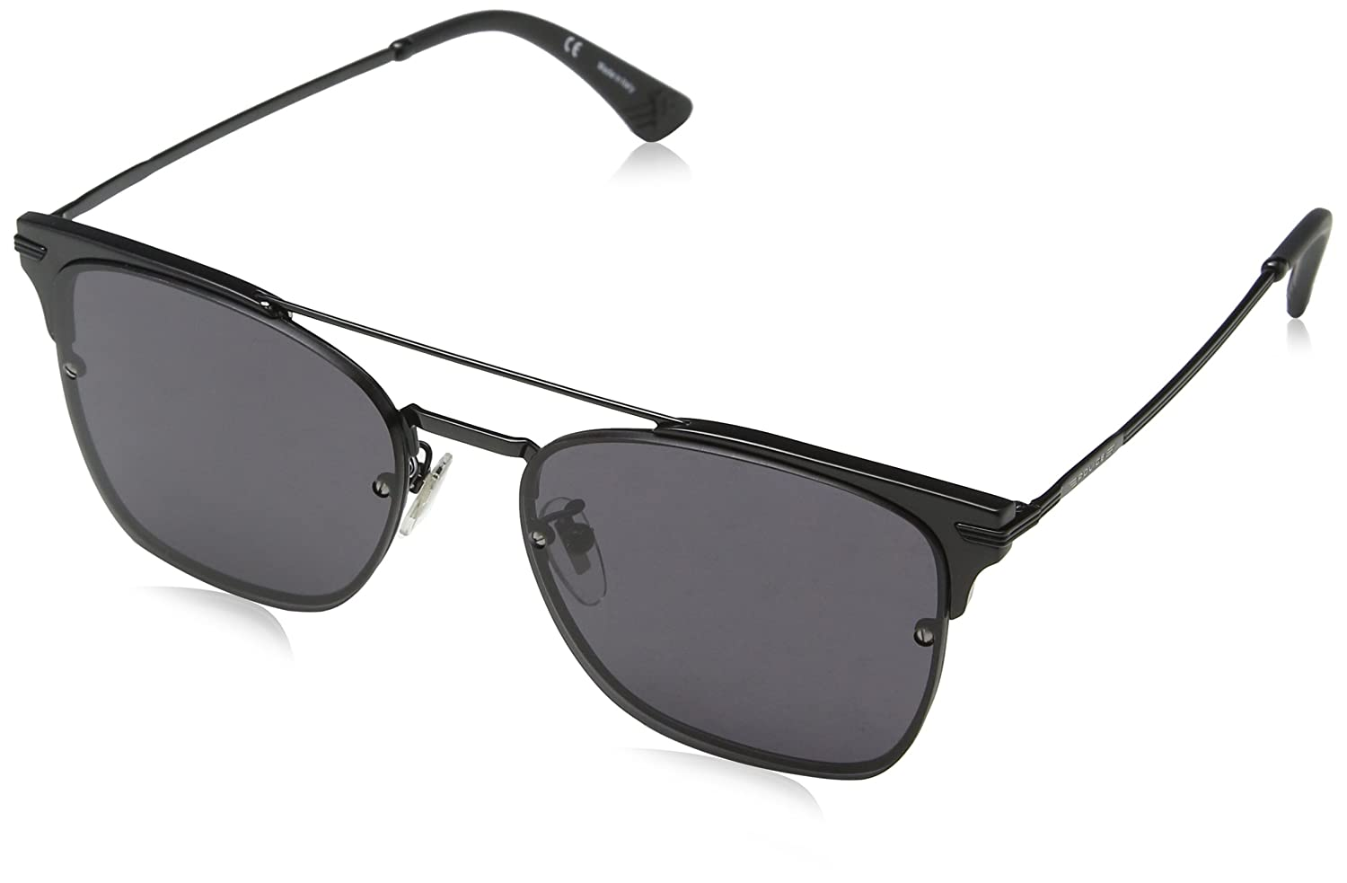 Police Highway Two 3 Gafas de sol, Negro (Shiny Black), 56 ...