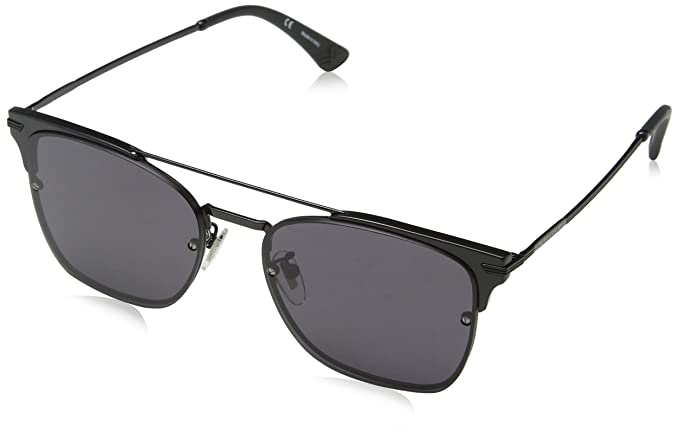 Police Highway Two 3, Gafas de Sol para Hombre, Negro (Shiny Black)