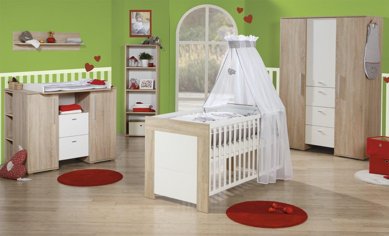 Roba Kinderzimmer | Roba Kinderzimmer Daniel Komplettzimmer 3 Teilig Mit Babybett