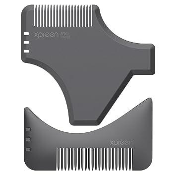 Bart Schablone | Bartkamm | Kamm für Herren | Bart Styling Tool ...