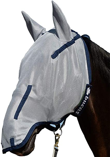 BUCAS BUZZ OFF EXTENDED NOSE FLY MASK
