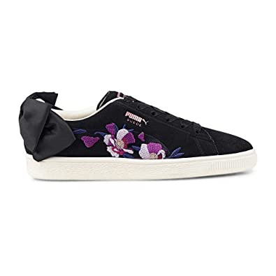 Puma Suede Bow Flowery W Chaussures Black Rose Gold  Amazon.fr  Chaussures  et Sacs 4bd9c2133