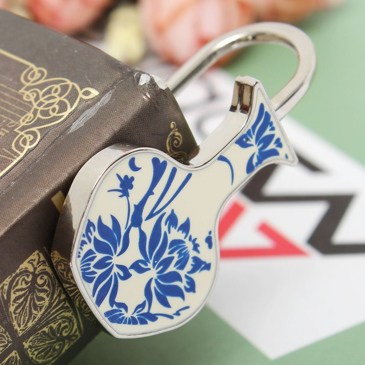 BABAN Marque-pages Bookmark Signets M/émo Traditionnel Chinois Bleu et Blanc Porcelaine Cr/éatif Cadeau C