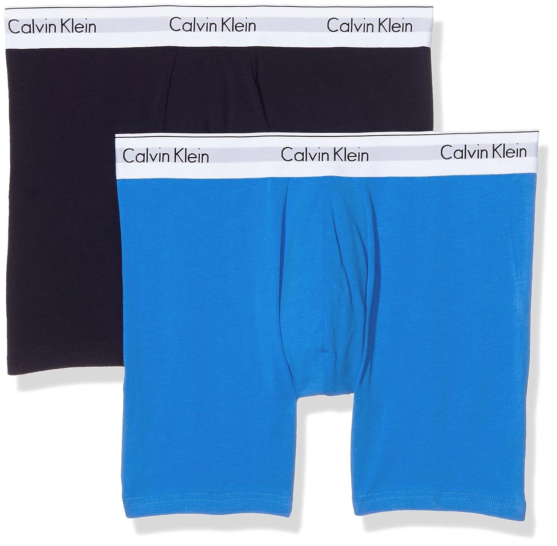 TALLA S. Calvin Klein Bañador para Hombre (Pack de 2)