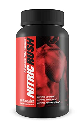 Nitric Rush-Strength, Endurance, and Recovery Time – L-Arginine Boost for Extra Pump in Your Workouts