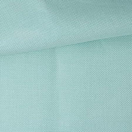 Tela para Punto de Cruz | 75cm x 50cm | 5,5 puntos/cm – 14 cuentas | 100% algodón | Elige color | de Delicatela (Turquesa): Amazon.es: Hogar
